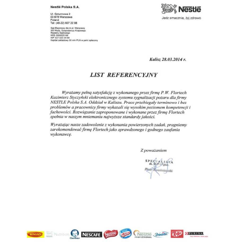 Nestle - Kalisz