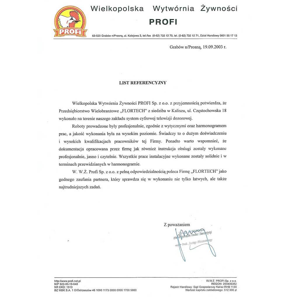 Profi - Grabów n/Prosną
